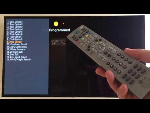 LG TV Service Menu (EZ-ADJUST) Tool Option Values - смотреть