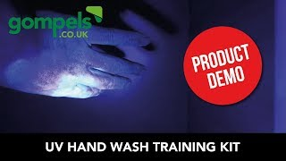 Product Demo - Gompels UV Hand Wash Training Kit (64783)