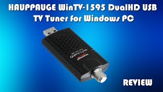 HAUPPAUGE WinTV-1595 DualHD USB TV Tuner - Watch LIVE TV on your PC or Laptop!