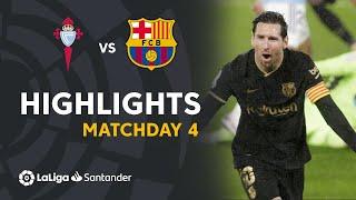 Highlights RC Celta vs FC Barcelona (0-3)