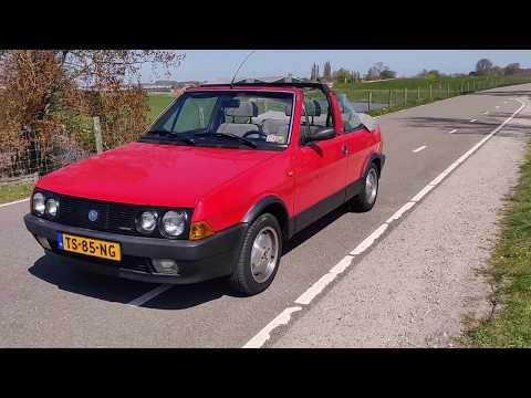 Fiat Ritmo CABRIO 100S Fiat Ritmo Bertone Cabrio 100S Originele Nederlandse auto met N.A.P