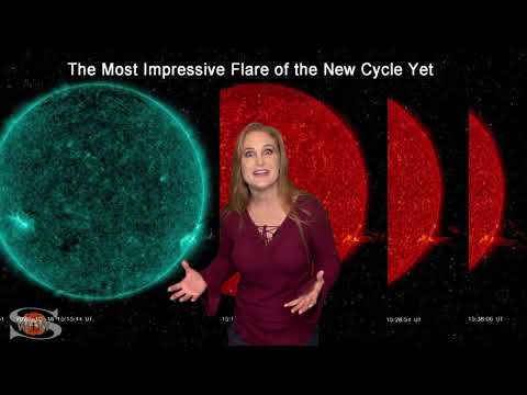Solar Storm Forecast – October 18, 2020 at 08:14PM