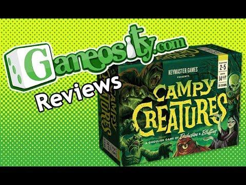 Gameosity Reviews Campy Creatures