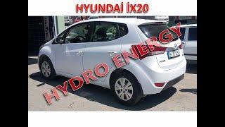 Hyundai İX20 hidrojen yakıt sistem montajı