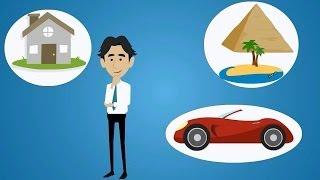 Финансы: заработать, сохранить. Пример рекламного анимационного ролика