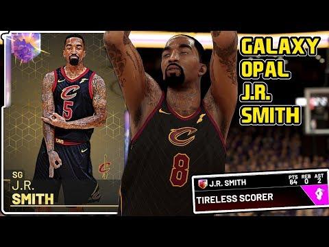 GALAXY OPAL J.R. SMITH 64PT GAMEPLAY! HENNY GOD IS BACK! NBA 2k19 MyTEAM