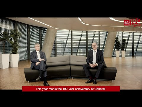 #Generali190 - GCEO Philippe Donnet and Chairman Gabriele Galateri di Genola on our Anniversary