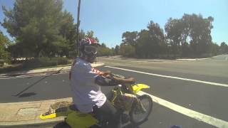 Yz450f Top Speed Run With Rm250