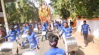 Kerala Nasik Dhol Dhwani Tharang Rocking performance @ Thrippakudam Sivarathri