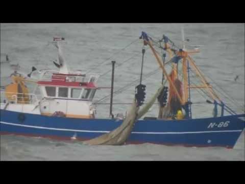 Chalutier en Mer du Nord
