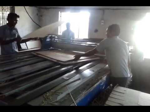 Corrugated Board Flat Bed Die Punching Machine