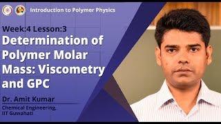 Determinación de la masa molar polimérica: viscosimetría y GPC