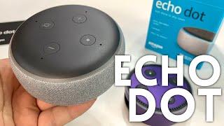 Amazon Echo Dot (3rd Gen) Smart Speaker in Heather Gray Unboxing