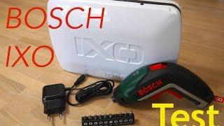 Unboxing + Test Bosch IXO 5  Akkuschrauber