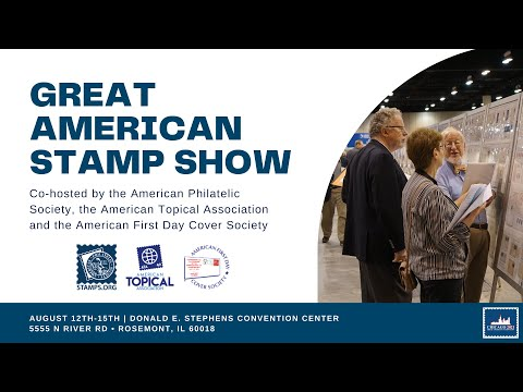 Are You Ready: The Great American Stamp Show 2021