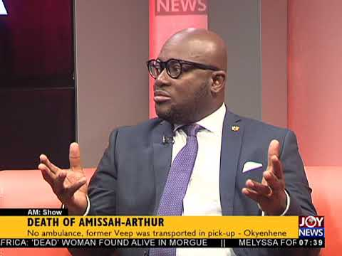 Death Of Amissah-Arthur - AM Talk on JoyNews (3-7-18)