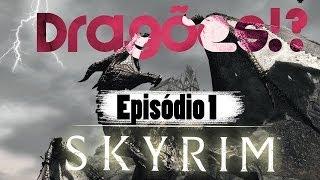 """The Elders Scrolls: Skyrim . Episódio 1 . """"Matadouro"""" [Detonado/Walkthough] Em Português"""