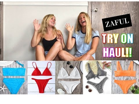 BESTIE ZAFUL BIKINI HAUL/TRY ON | bysydneyvictoria
