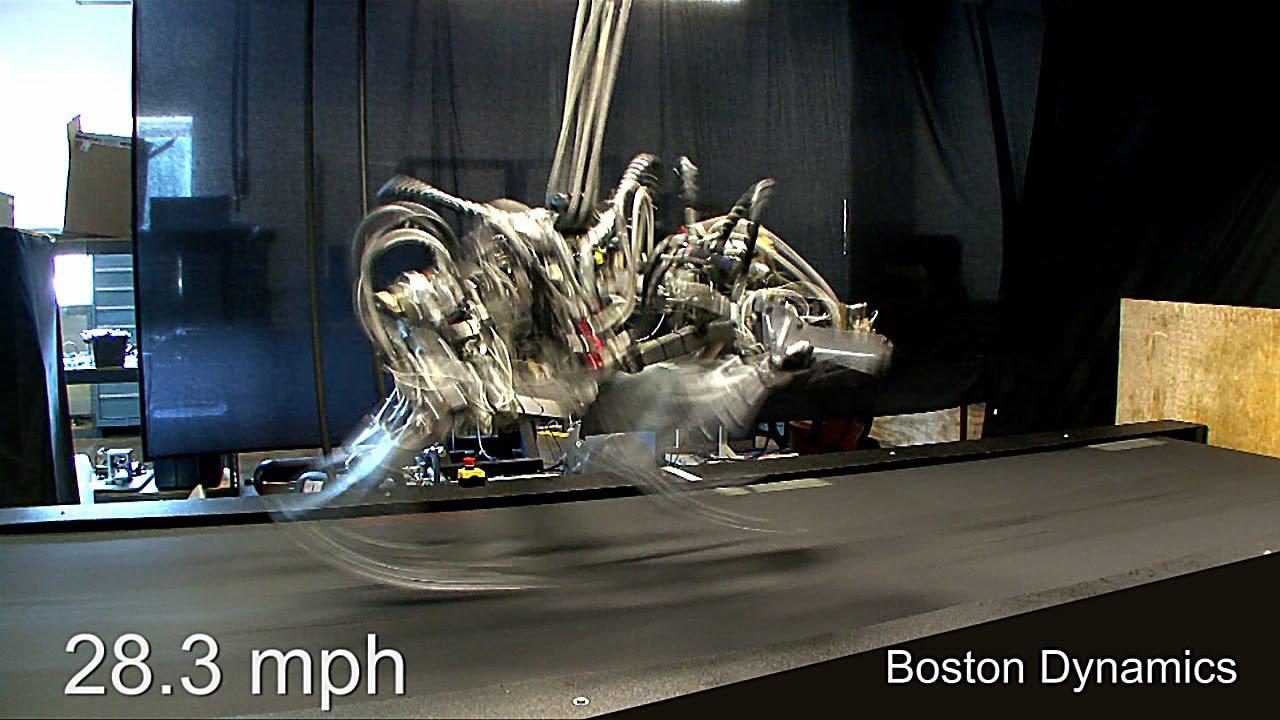 This Robot Cheetah Is Faster Than Usain Bolt