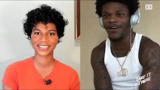 Lamar Jackson Talks Madden Curse, Mahomes and Drake | 'Take it There with Taylor Rooks'