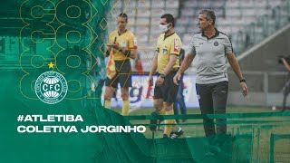 #ATLETIBA - Coletiva Jorginho