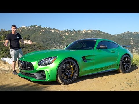 $184,000 Mercedes AMG GTR Review – BETTER Than A GT3RS?