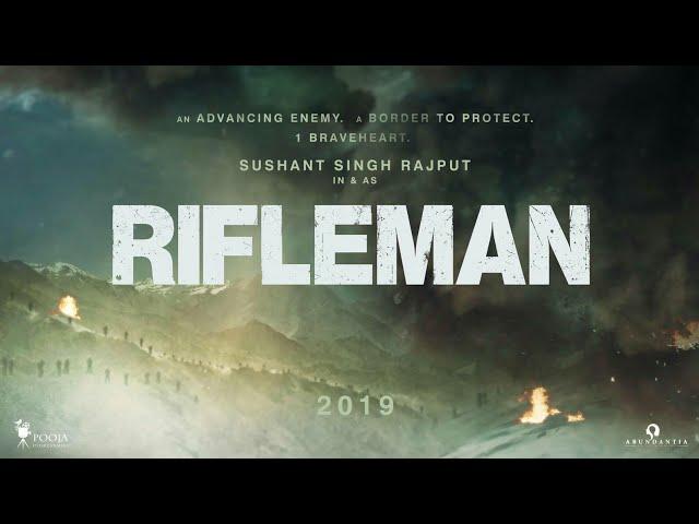 Sushant Singh Rajput's next film titled 'Rifleman'