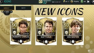 CONFIRMED NEW ICONS IN FIFA MOBILE 18!! LEAKED REQUIREMENTS+ STATS EXPLAINED!!! OFFICIAL PLAYERS!!