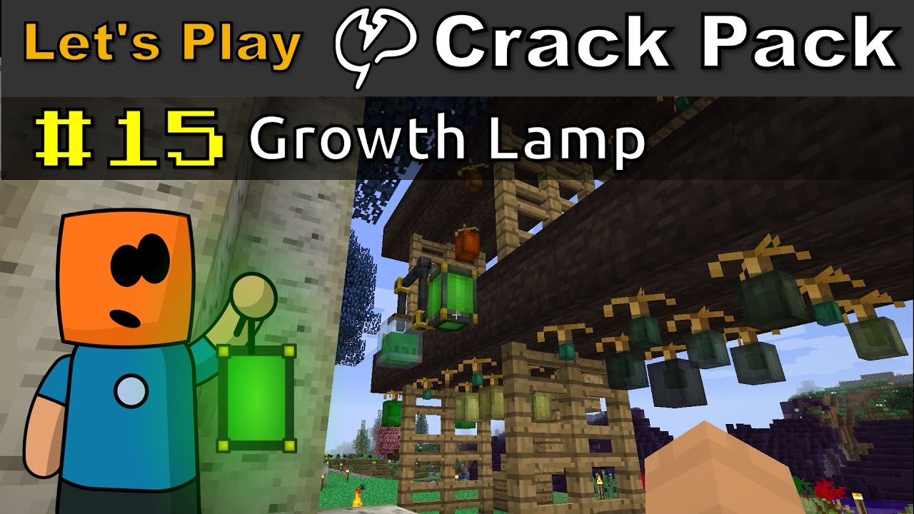Minecraft - CrackPack #15 | Growth Lamp