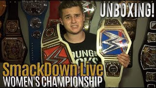 SmackDown Live Women's Championship Replica Belt UNBOXING!!!
