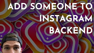 How To Add People To Your Instagram Business Page | Add an Instagram Moderator