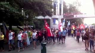 preview picture of video 'Poznan 2013 Homeless World Cup - Parade'