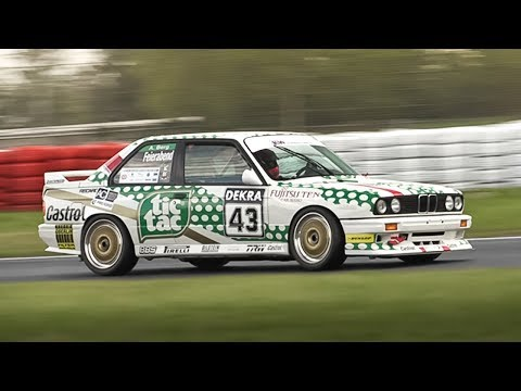 Tourenwagen Classics 2019 Nürburgring: CLK AMG DTM, Audi A4 STW, BMW M3 E30