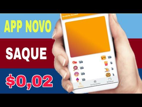 SCRATCHY SCRATCH - Novo Aplicativo com Saque $0.02 no Paypal (Money no paypal)