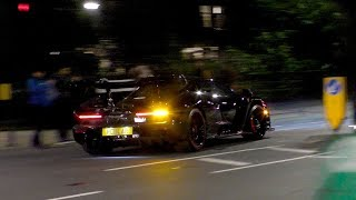 Super STEALTHY Mclaren SENNA by night!