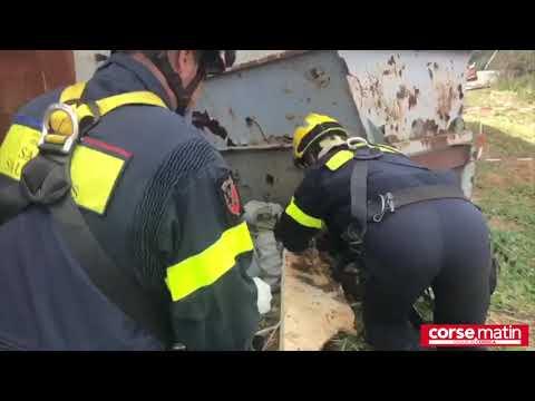 VIDEO. Sur le théâtre d'une explosion avec la Sécurité civile en Corse