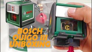 Bosch Quigo 3 - Self-leveling Laser Device Unboxing