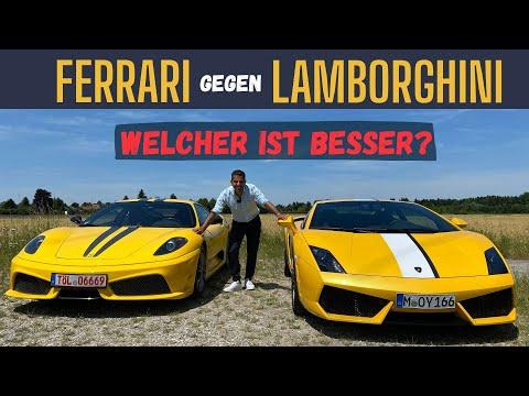 Ferrari 430 Scuderia vs. Lamborghini Gallardo Balboni | Sound, Performance & Wert | Hamid Mossadegh