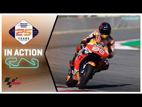 Honda in action: Gran Premi Monster Energy de Catalunya