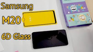 Samsung M20 6d Tempered Glass Best 5d Edge To Edge Screen Protector