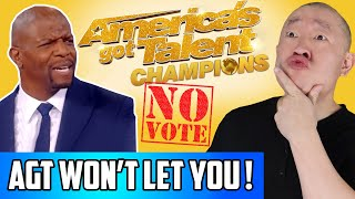 AGT Champions  - REAL REASON Why They Won't Let You Vote! America's Got Talent Truth Revealed!