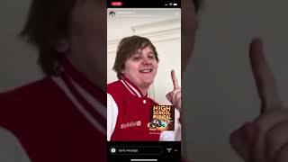Lewis Capaldi   New Jacket Turns Him Into Troy Bolton (top Shagger)