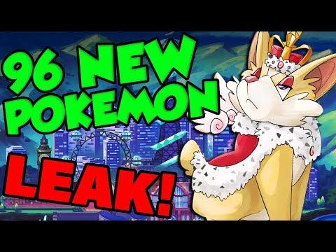 Every New Pokemon Leaked Pokemon Sword And Shield Pokedex Leak
