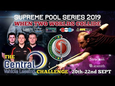 Clint I'Anson vs Tom Cousins - The Supreme Pool Series - Central Vehicle Leasing - T16