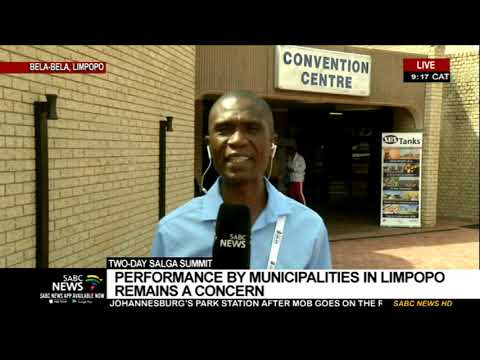 SALGA Summit | Performance for Limpopo municipalities remains a concern
