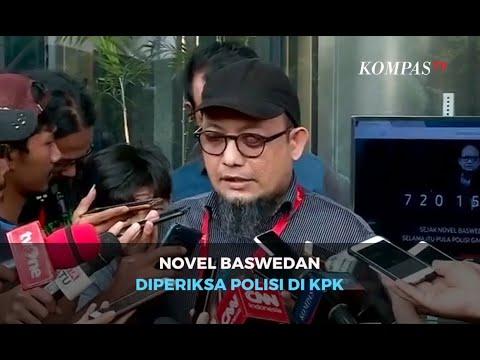 Novel Baswedan Diperiksa Polisi di KPK