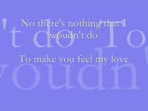 To Make You Feel My Love Josh Kelley