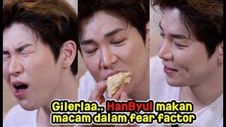 HanByul Makan DURIAN?! DAEBAK LAH! // The CubaShow With HanByul