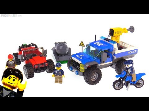 LEGO City Dirt Road Pursuit Review! Mountain Police Set 60172