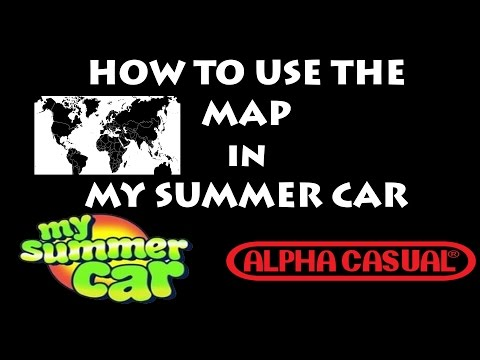 My Summer Car Mapa.Steam Community Video How To Use The Map In My Summer Car